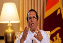 International drug syndicates and not Islamists behind Sri Lanka's Easter Sunday bombings, claims President