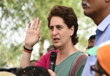 Police stop Priyanka Gandhi from meeting families of Sonbhadra massacre victims