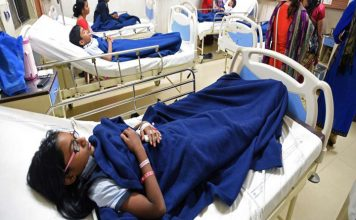 Over 50 children electrocuted by high tension wire at school campus in UP's Balrampur District