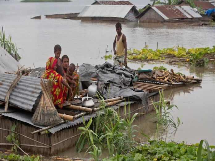 Hundreds killed and millions displaced in Monsoon floods across India, Bangladesh and Nepal