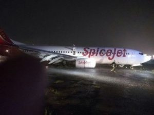 19 feared dead in wall collapse and aircraft overshoots the runaway