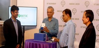 Diabetic Foot Screening Device Launched by IITB Innovator
