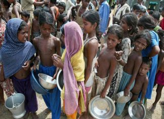 Indians are hungrier than people of China, Nepal, and Pakistan as per the Global Hunger Index