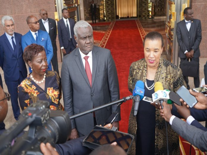Joint declaration of the tripartite visit to Cameroon