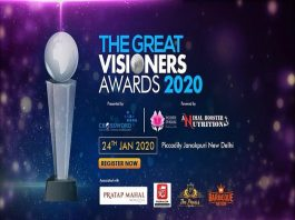 Unveiling 'The Great Visioners Awards 2020' to honor the pioneers of the business industry