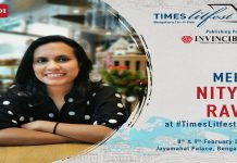 Invincible Publishers at Times LitFest, Bengaluru