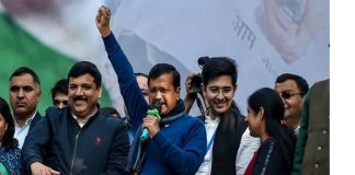 "Delhi Voters once again support Kejriwal, whole state resonates, "" Abki Baar Delhi AApki hui Kejriwal"""