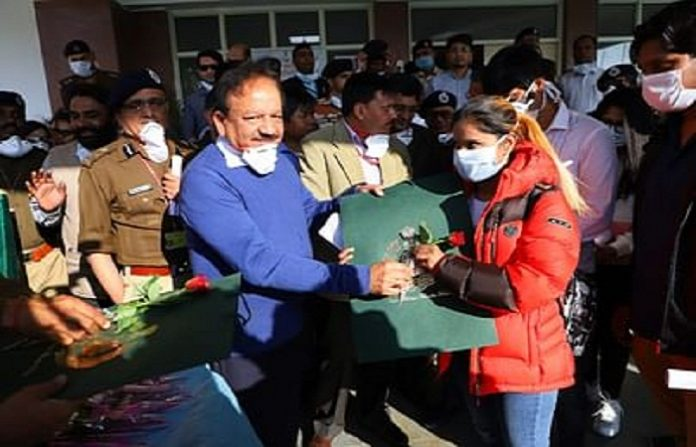 After 14 days of Quarantine 406 people are Released from ITBP Facility