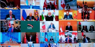 Will Do Whatever it Takes to Overcome the Pandemic G20 Leaders at the Virtual G20 Meeting