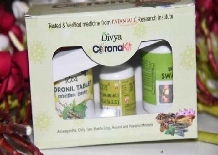 CORONIL claimed as CURE by PATANJALI Sets a Dangerous Trend and Brings Disrepute to AYURVEDA in INDIA. the policy times