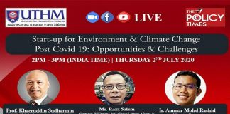 WEBINAR| Is climate change a blessing or a curse for Start-up? Three 'A's rule for every Start-up. the policy times