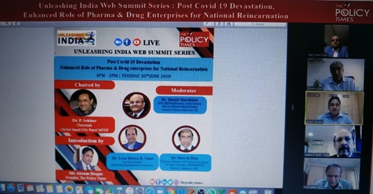 WEBINAR| 'Pharma and Drug Enterprises can make India one of the centres of the world health care system, India Ranks Third Worldwide for Production.The policy times