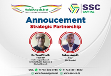 SSC Capital of Tanzania Teams up with World's First Halal Angel Network to Tap the Fast Growing African Market. The policy times